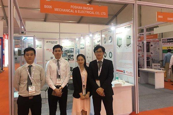 2017India Ceramics Industry Fair Staff