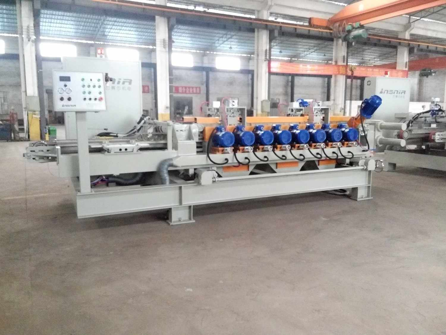 Dry Squaring Machine Bsm850(8+1) | Ceramic Tile Machine | Squaring ...
